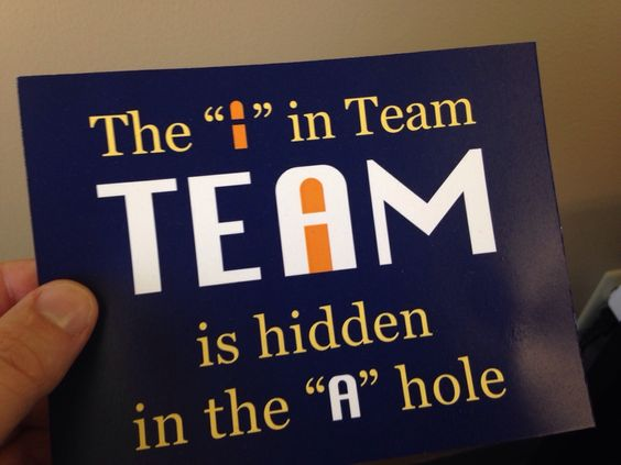 I In Team A Hole