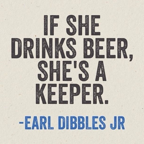 If She Drinks Beer