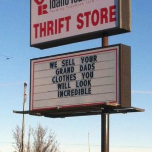 Incredible Thrift Shop