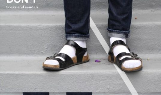 Socks Over Sandals