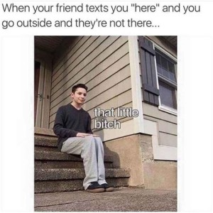 Text I Am Here