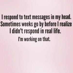 Texts In My Head