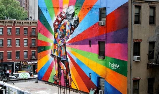 Top Seven Impressive Street Art Pieces in 2013