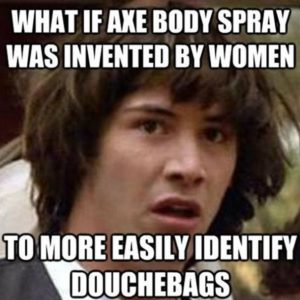 Axe Bosy Spray Invented By Women