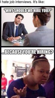 Because You Are Hiring