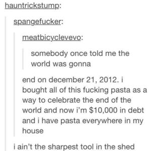 Expensive Pasta