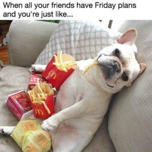 Friday Plans Potato