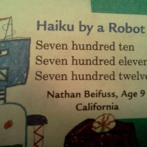 Haiku By Robot