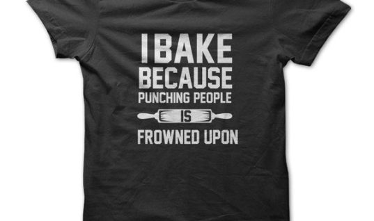 I Bake Because