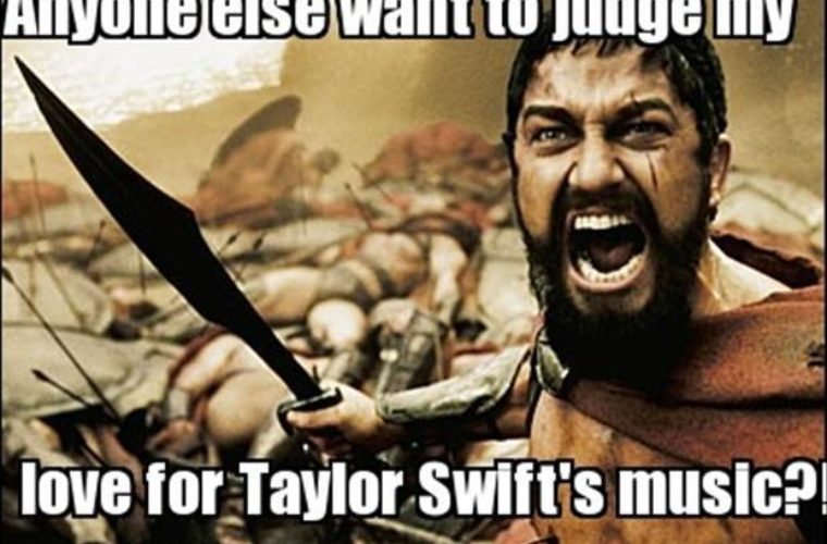 Judge My Love For Taylor Swift