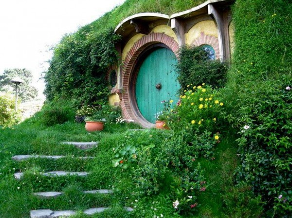 New Zealand Hobbit House