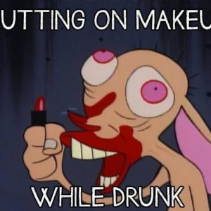 Puttin On Makeup