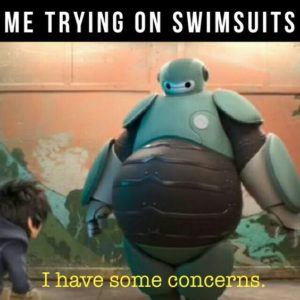 Trying On Swimsuits