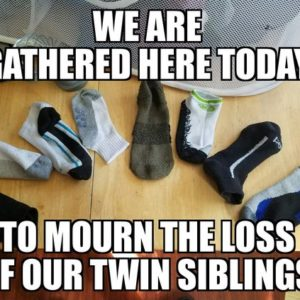 Twin Siblings Socks