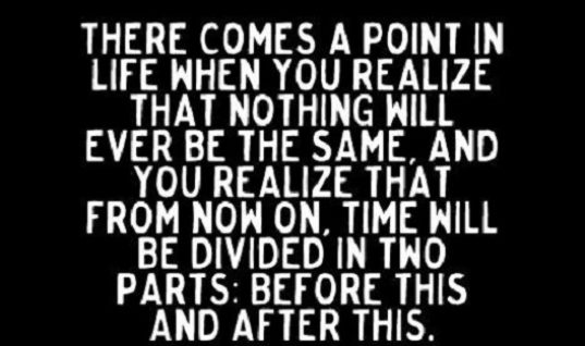A Point In Life