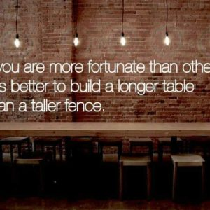 Build A Longer Table