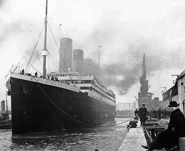 Departure of the RMS Titanic