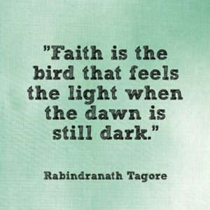Faith Is The Bird