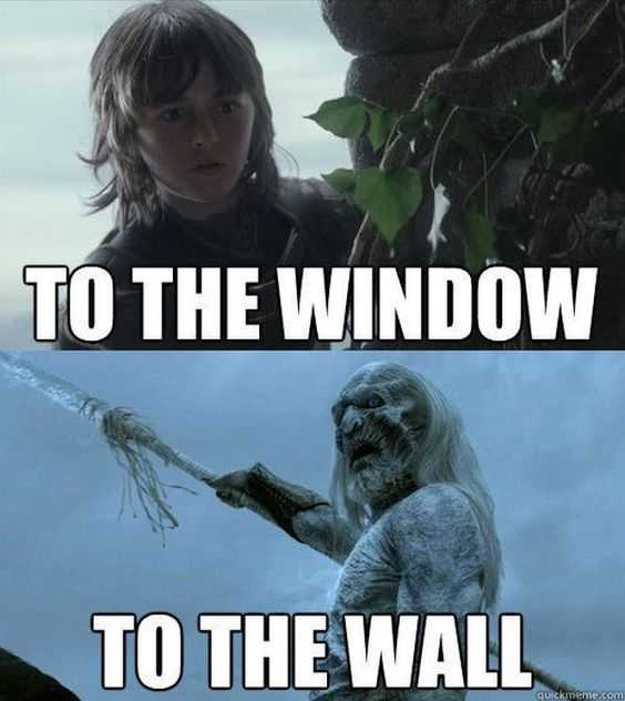 To The Window To The Wall