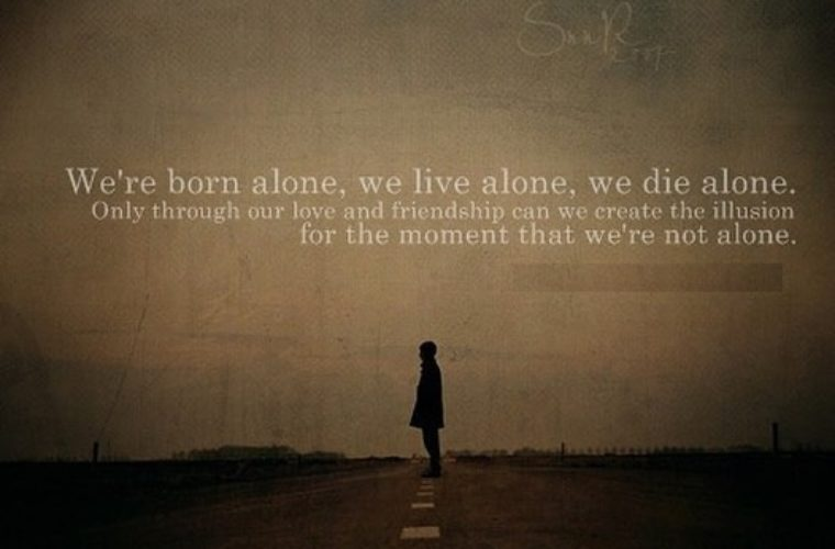 We Are Alone