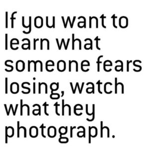 What Someone Fears