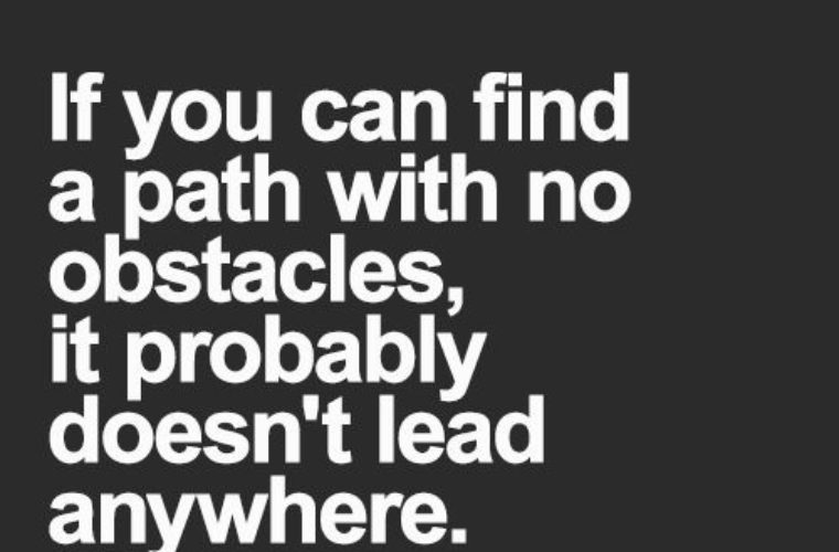 A Path With No Obstacles