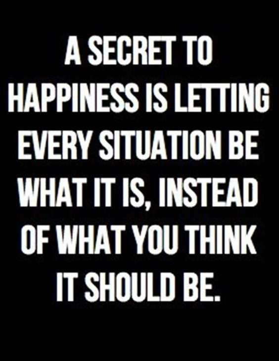 A Secret To Happiness