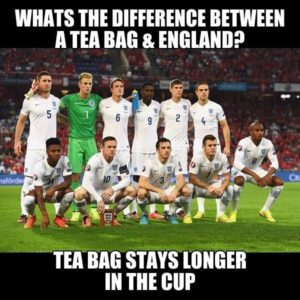A Tea Bag And England