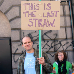 Angriest Protester Ever