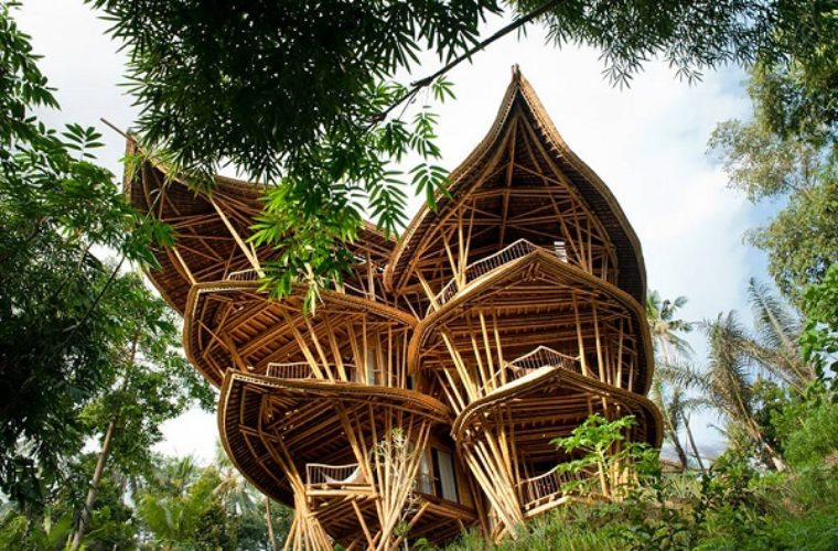Amazing Bamboo Houses Built in Bali