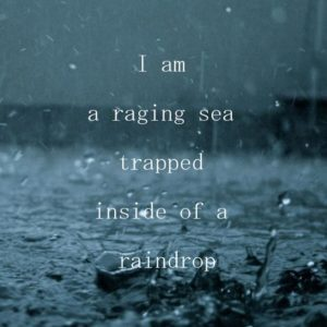 I Am A Raging Sea