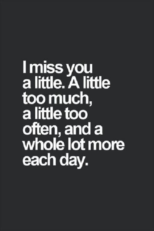 I Miss You A Little