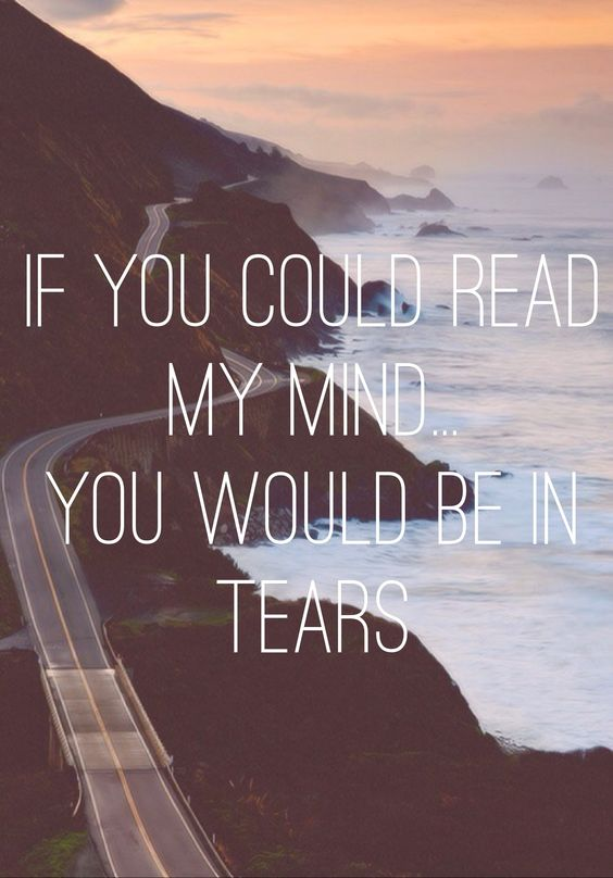 If You Could Read My Mind