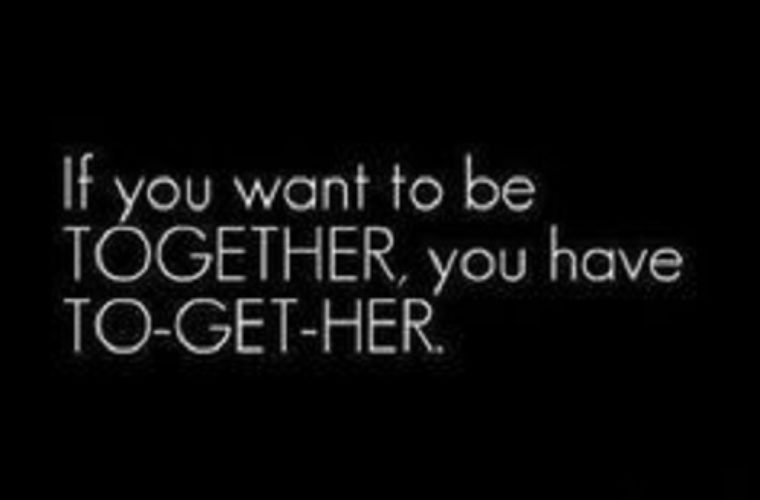 If You Want To Be Togheter
