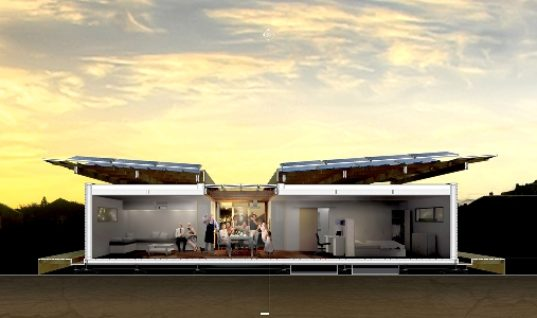 First Light House by Team New Zeeland at Solar Decathlon