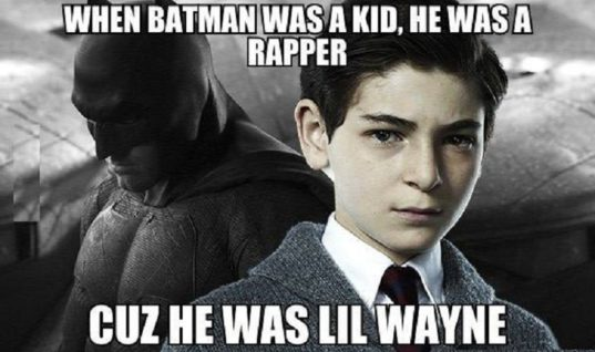 Batman Was A Kid