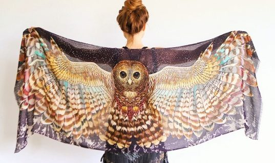 These Beautiful Scarves Will Make Your Soul Fly