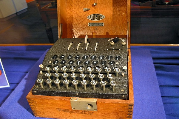 Codes - The Enigma Cipher Machine