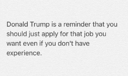 Donald Trump Reminder