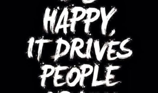 Drives People Crazy