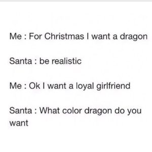 I Want A Dragon