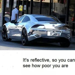 It's Reflective