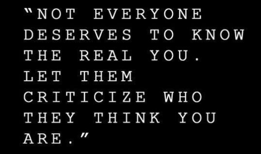 Know The Real You
