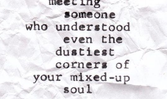 Meeting Someone