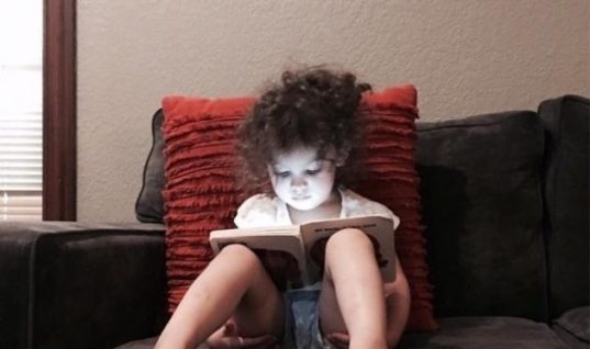 My Little Girl Is Reading