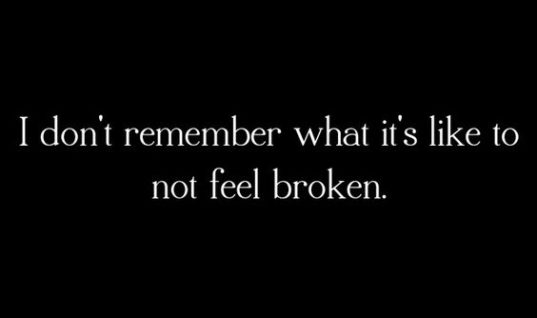 Not Feel Broken