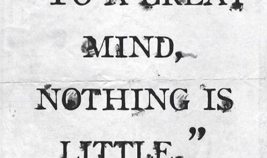 Nothing Is LIttle