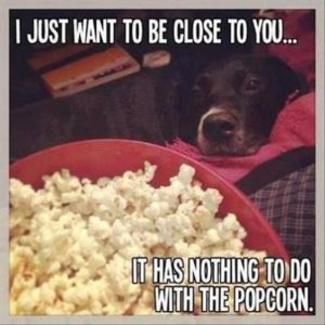 Nothing To Do With The Popcorn