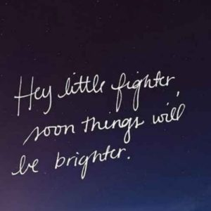 Things Will Be Brighter