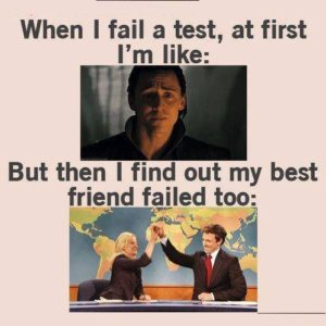When I Fail A Test